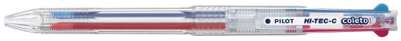 PILOT HI-TEC-C/3 色筆管 超細變芯鋼珠筆