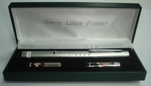 11623 綠光雷射筆/銀 (4號電池)