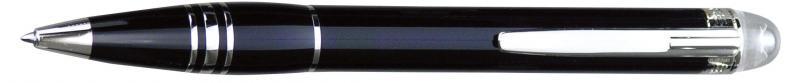 萬寶龍 MB25602 漂浮系列鋼珠筆 (黑玉色)