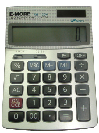 E-MORE MS-120V 計算機 12位  10.5*14cm