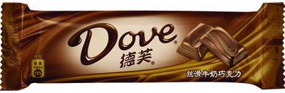 德芙絲滑牛奶巧克力