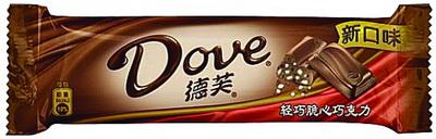 德芙輕巧脆心巧克力