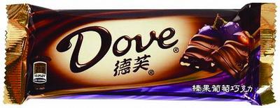 德芙榛果葡萄巧克力