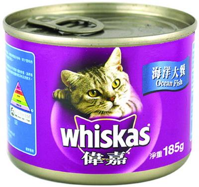 偉嘉貓罐頭