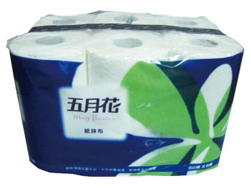 五月花紙抹布 6入/8袋/箱