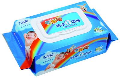 五月花純水柔濕巾(超厚型) 80抽/3包/袋