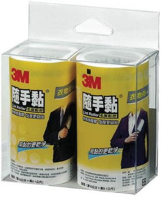 3M 836RP-56 衣物隨手黏補充包 (2捲入/包)
