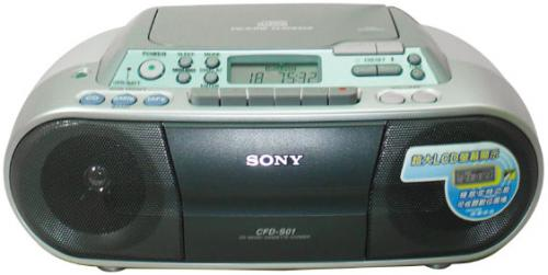 SONY 手提 CD音響 CFD-S01