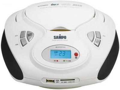 SAMPO MP3手提音響AK-W1013UL (附遙控器)