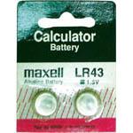 maxell水銀電池 LR43