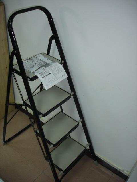 扶手型梯/鐵製 4層(H100cm)
