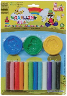 彩色安全黏土 LS-5   12色