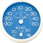 時鐘型日本溫度ˋ濕度計 HD-75
