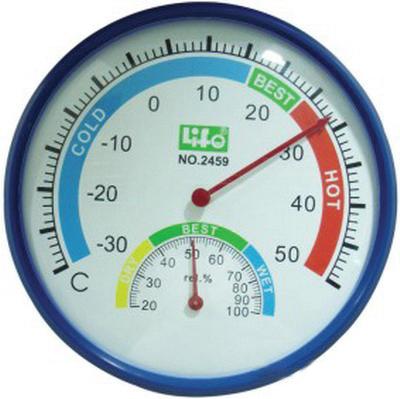 NO.2459  塑膠框溫度ˋ濕度計