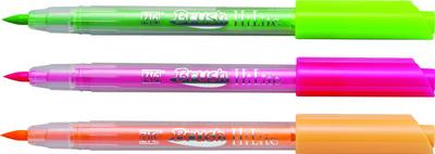 BH-55  日本吳竹毛筆型螢光筆