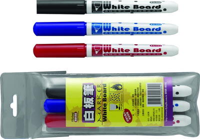 BM-800  環保白板筆 3色組