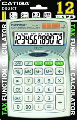 CATGA  DS-210  12位數中文稅率計算機