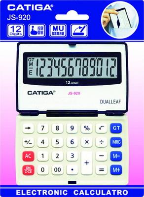 CATGA  JS-920  12位中型折疊計算機