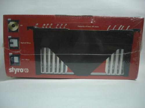 CD-5030懸掛式20片CD整理盒
