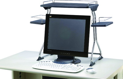 SL-400 LCD螢幕置物架(附喇叭座)