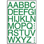 W2062 彩色英文標籤