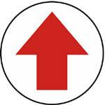 W2202 箭頭(白底紅箭頭)標籤